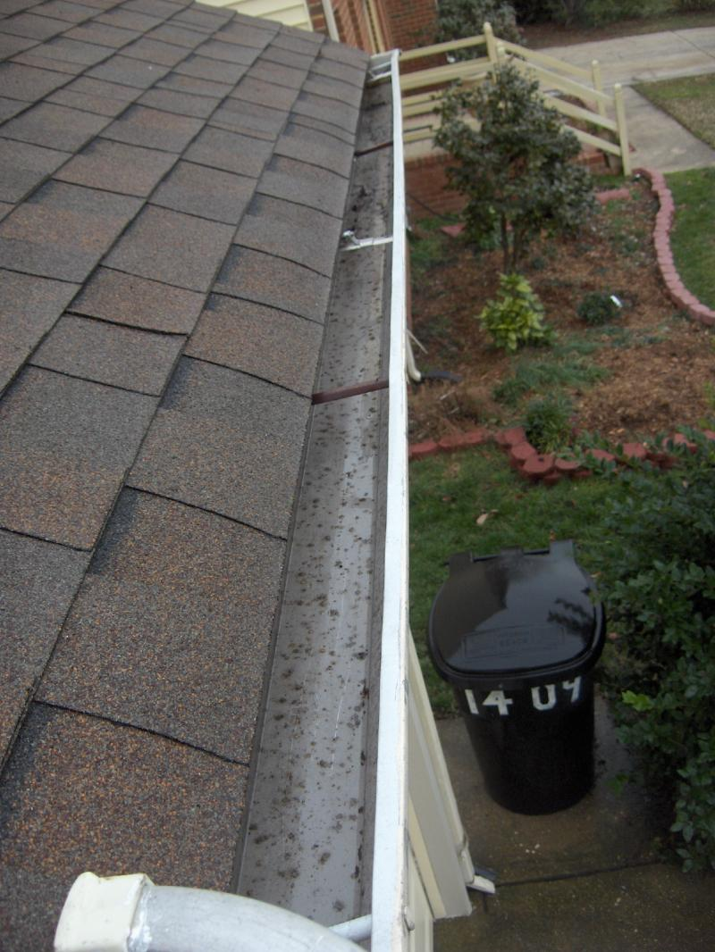 Gutter cleaning and repair, cleaning of all downspouts and inspection.