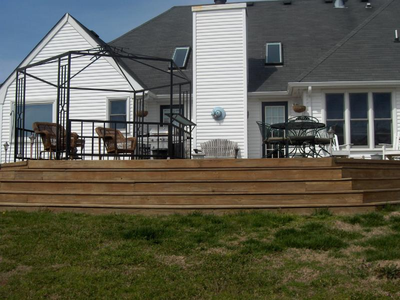 Build, clean, seal, and repair decks, docks, and fences.