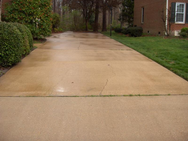 Cleaning of driveways, sidewalks, porches, patios, pool decks, steps, and gum removal.
